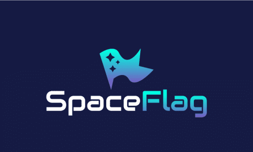 Spaceflag - Space startup name for sale