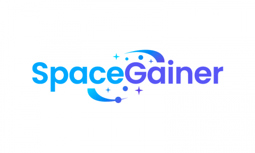 Spacegainer - Modern business name for sale