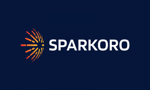 Sparkoro - Technology startup name for sale