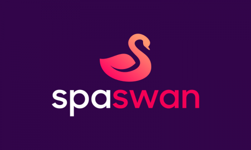 Spaswan - Contemporary domain name for sale