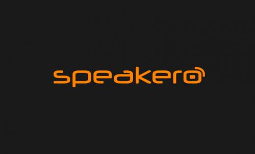 Speakero - Ideal domain for a speaking brand