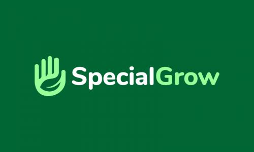 Specialgrow - Farming company name for sale