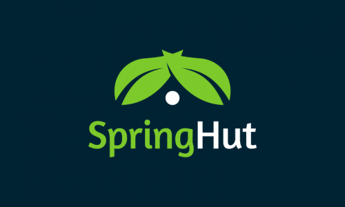 Springhut - Retail startup name for sale