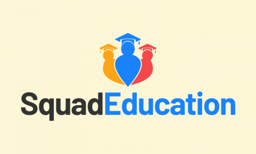 Squadeducation - E-learning company name for sale
