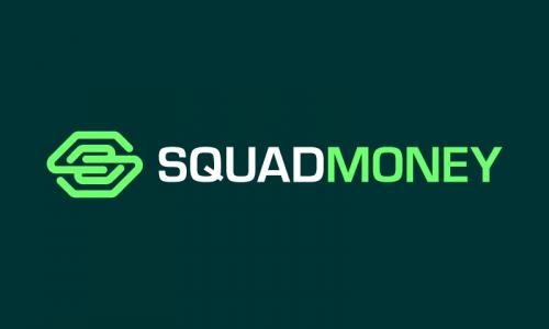 Squadmoney - Finance brand name for sale