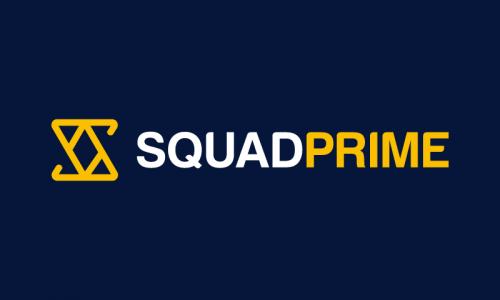 Squadprime - Retail company name for sale