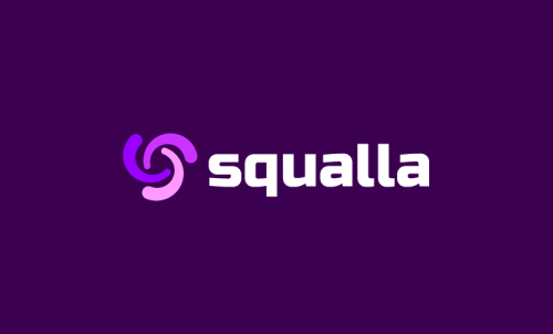 Squalla - Appealing business name for sale