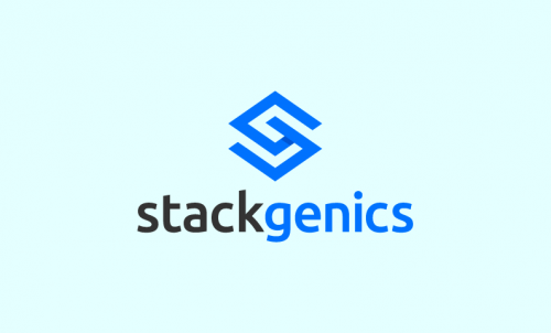 Stackgenics - Fundraising company name for sale