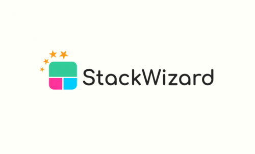 Stackwizard - Fundraising startup name for sale