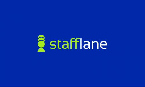 Stafflane - Recruitment brand name for sale