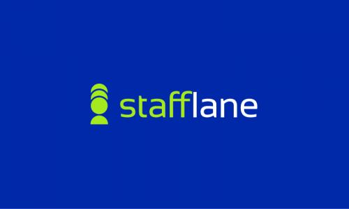 Stafflane - Recruitment brand name for sale
