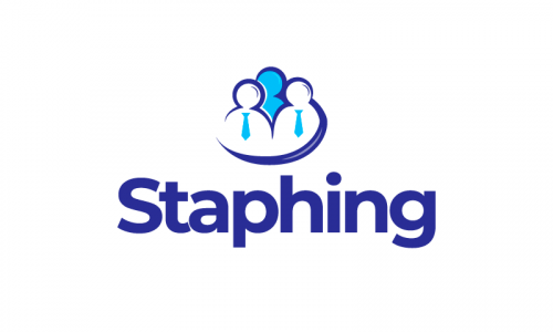 Staphing - Recruitment startup name for sale