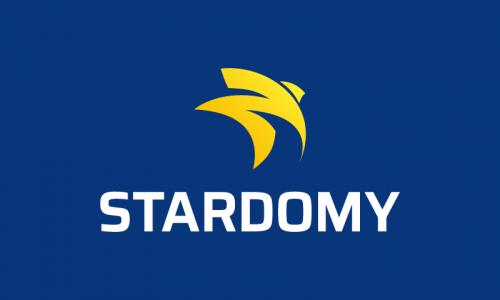 Stardomy - Marketing domain name for sale