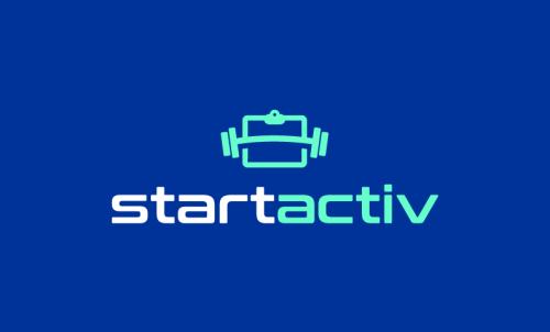 Startactiv - Fitness startup name for sale