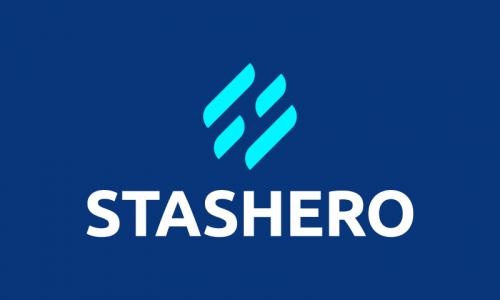 Stashero - E-commerce domain name for sale