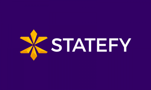 Statefy - E-learning domain name for sale