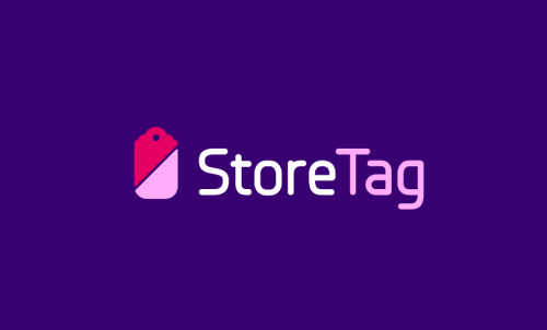 Storetag - E-commerce brand name for sale