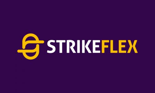 Strikeflex - Retail startup name for sale