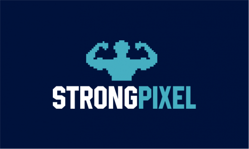 Strongpixel - Marketing startup name for sale