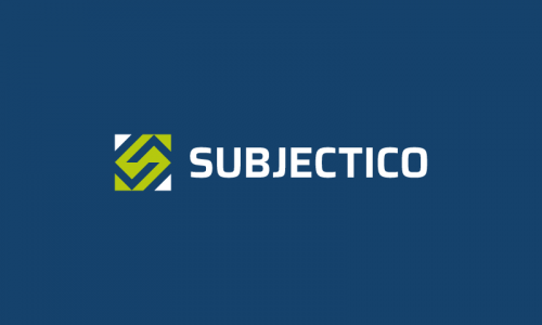 Subjectico - Import / export startup name for sale