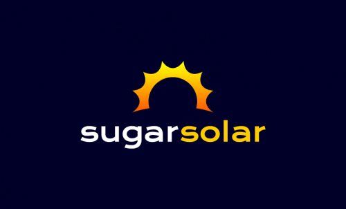 Sugarsolar - Environmentally-friendly startup name for sale