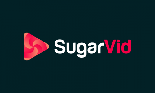 Sugarvid - Video company name for sale