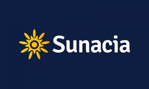 Sunacia - Retail startup name for sale