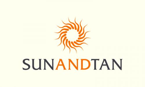 Sunandtan - E-commerce domain name for sale