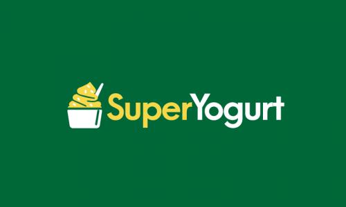 Superyogurt - Health company name for sale