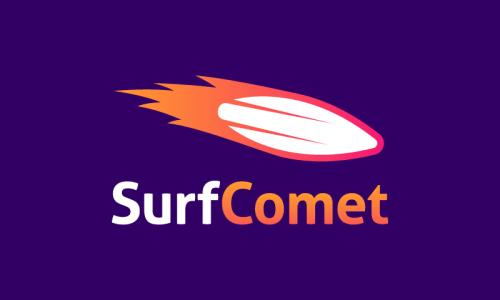 Surfcomet - Business brand name for sale