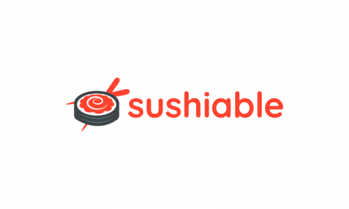 Sushiable - Food and drink startup name for sale