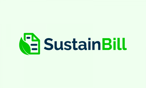Sustainbill - Environmentally-friendly product name for sale