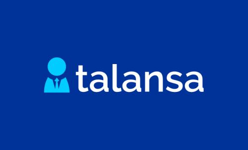 Talansa - Recruitment company name for sale