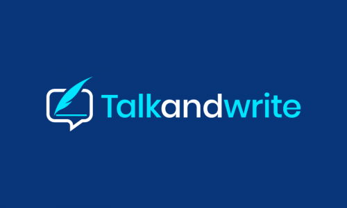 Talkandwrite - Writing company name for sale