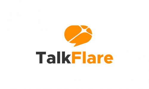 Talkflare - Telecommunications business name for sale