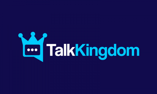 Talkkingdom - Social business name for sale