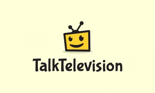 Talktelevision - Media brand name for sale