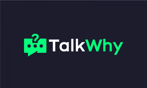 Talkwhy - Social domain name for sale