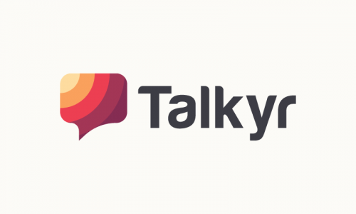Talkyr - Brandable company name for sale