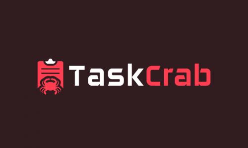 Taskcrab - Business startup name for sale
