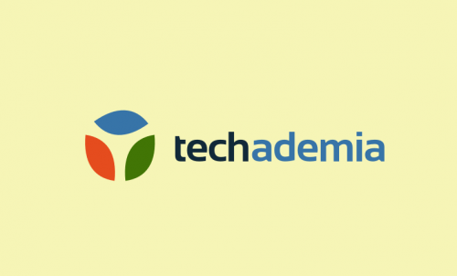 Techademia - Business name for a company in the tech and education industry