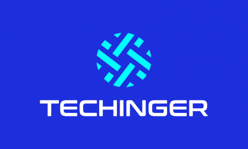 Techinger - Technology startup name for sale