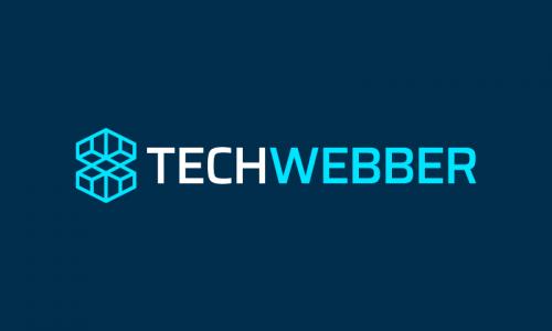 Techwebber - Technology company name for sale