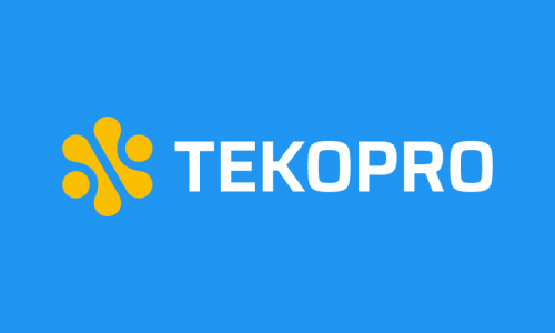 Tekopro - AI startup name for sale