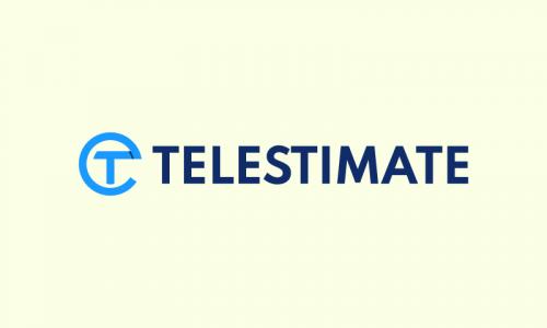 Telestimate - Analytics domain name for sale
