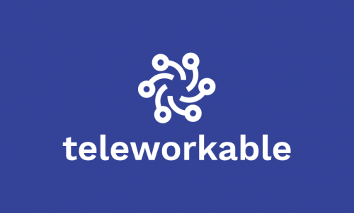 Teleworkable - Corporate startup name for sale