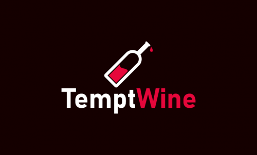 Temptwine - Drinks company name for sale