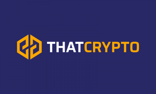 Thatcrypto - Cryptocurrency business name for sale
