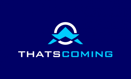 Thatscoming - Travel startup name for sale