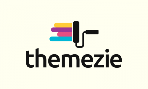 Themezie - Design brand name for sale